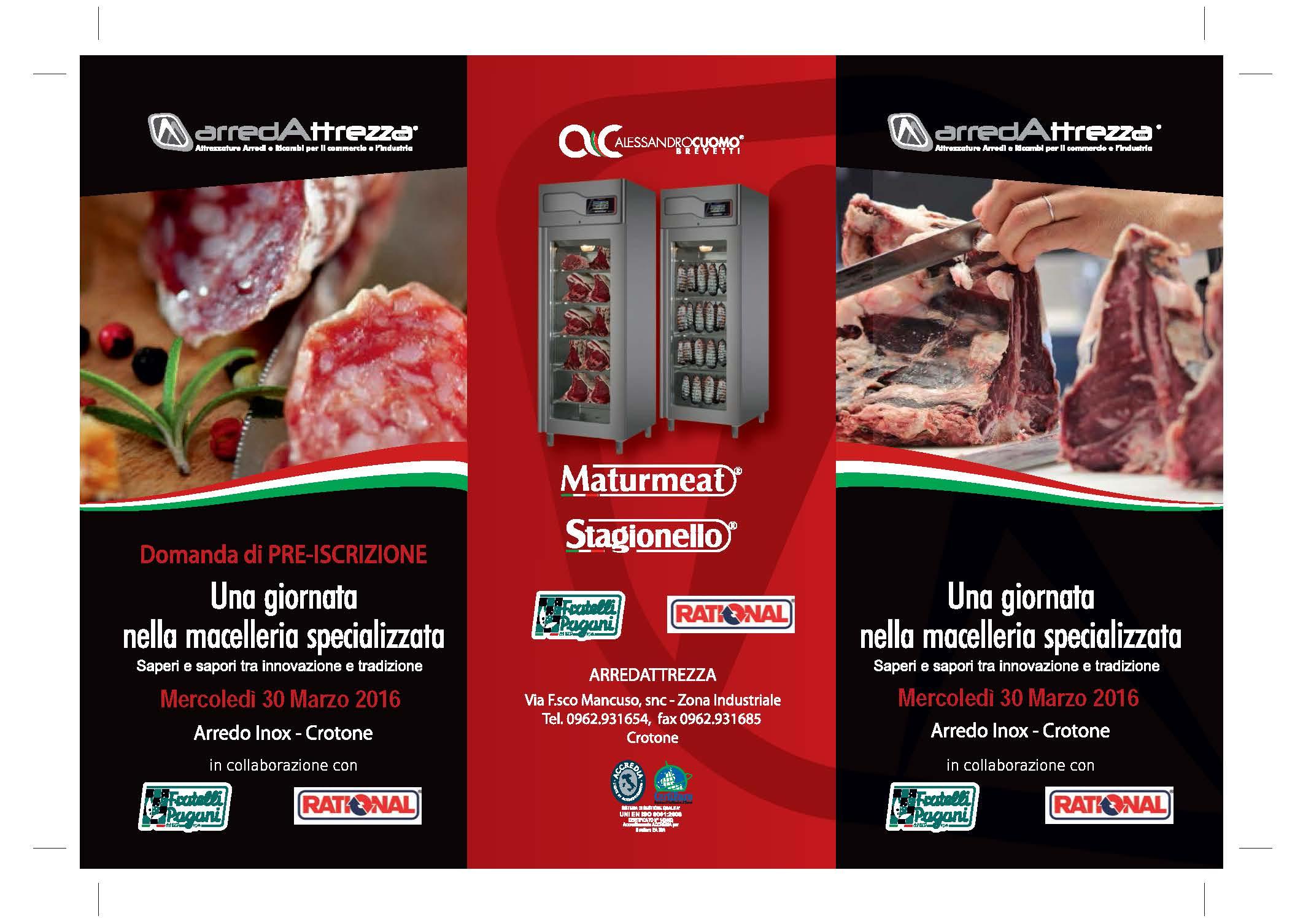 Arredattrezza una giornata nella macelleria specializzata for Arredo inox crotone